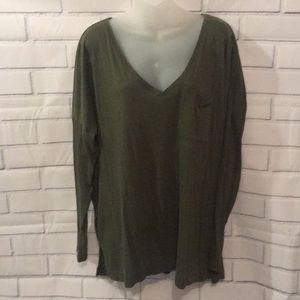 Old navy army green long sleeve